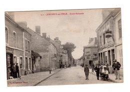 CPA 51 - Jonchery Sur Vesle - Route Nationale - Jonchery-sur-Vesle