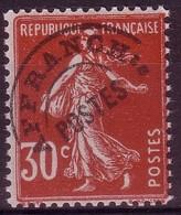 -Préoblitéré 58 Semeuse 30c Rouge - Neuf** - 1893-1947