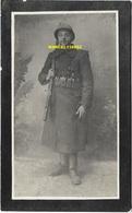 Guerre 14 / 18 - Mercier Nestor , Georges - Deux-Acren 1888 / Ramscapelle 1917 - Décès