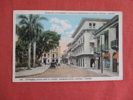 2 Cent Over Printed Canal Zone Stamp---  Cathedral Plaza> Panama Ref 3153 - Panama