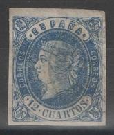 Espagne - YT 55 Oblitéré - 1862 - 1850-68 Kingdom: Isabella II