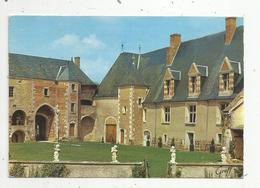 Cp ,18 ,LA CHAPELLE D'ANGILLON ,voyagée 1970 ,  CHATEAU DE BETHUNE - France