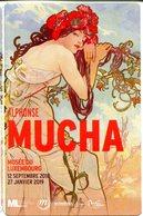 Musée Du Luxembourg - Exposition A. Mucha - (Paris - France) - Eintrittskarten