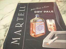 ANCIENNE PUBLICITE POUR BOIRE A L EAU  DRY PALE 1955 - Alcools
