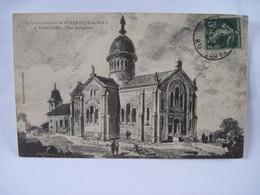 CPA  70  La Future Chapelle De NOTRE-DAME Du HAUT à RONCHAMP  Vue Perspective 1914   TBE - Non Classés