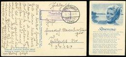 P0546 - DR Feldpost Postkarte Lied Rosemarie, Mit Landpoststempel: Gebraucht Beefelde über Fürstenwalde - FP . Nr. 341 - Briefe U. Dokumente