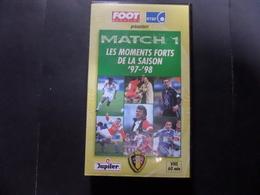 VHS Football Belgique 97/98 - Sport