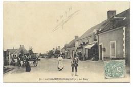 36-LA CHAMPENOISE-Le Bourg...1918   Animé - France
