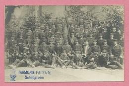 67 - SCHILTIGHEIM - Carte Photo - Harmonie - Fanfare - Schiltigheim