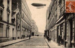 VINCENNES   RUE DE MONTREUIL LE TEMPLE PROTESTANT - Vincennes