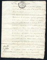Acte Notarié18ème 25 Floréal An III ( 14 Mai 1795 ) Fameck - Budange Moselle - Manoscritti
