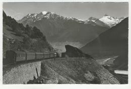 Berne       Die Lötschbergbahn Bei Brig - BE Berne