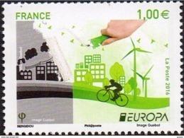 CEPT / Europa 2016 France N° 5046 ** Think Green - Europa-CEPT