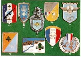 Carte Insignes Liban - Esercito