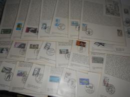 France Collection , 24 Documents De 1975 - Francia