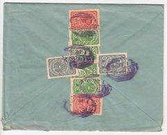 ÖSTERREICH 1919 - 8 Fach Frankierung Auf Brief Mit Mehrseitigem Inhalt, 6 Stempel Gleisdorf, Gelaufen Nach Klagenfurt - Briefe U. Dokumente