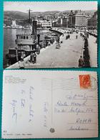 Cartolina Trieste - Riva Tre Novembre. Viaggiata 1956 - Trieste