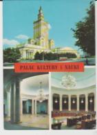 Postcard - Palac Kultury I Nauki Three Views, Warszawa - Posted But Date Unreadable  Very Good - Cartes Postales