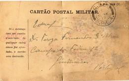 Portugal 06-IX-1917 / Censura - Cartão Postal Militar -  Serviço De Campanha - CEP - Corpo Expedicionário Português SCP4 - Briefe U. Dokumente