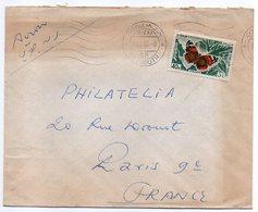 Liban--1966--Lettre De BEYROUTH Pour PARIS (France)--tp Papillon--cachet - Libanon