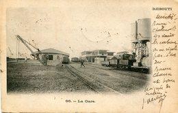 DJIBOUTI(GARE) TRAIN - Gibuti