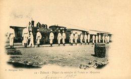 DJIBOUTI(GARE) TRAIN(DEPART DU MINISTRE) - Djibouti