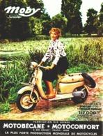"PUB  SCOOTER "" MOBY  "" De MOTOBECANE  1955 ( 1 ) - Other"