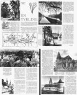 """"""" En YVELINE  """"  MONFORT-L'AMAURY / DOURDAN / HOUDAN / ST-CYR-SOUS-DOURDAN / ST-LEGER-EN-YVELINES  1955 - Ile-de-France"""