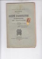 2 CENTIMES SAGE SUR BULLETIN SOCIETE AGRICULTURE DU VAUCLUSE 1896 - Zeitungsmarken (Streifbänder)