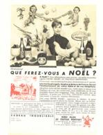 "PUB  VIN "" HENRI MAIRE  ""  1955 ( 1 ) - Andere Flessen"