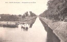 Couze (24 - Dordogne) Perspective Sur Le Canal - France