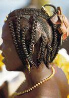 1 AK Tschad * Afrikanische Haarfrisur - Junges Mädchen - IRIS Karte Nummer 7629 * - Tschad