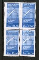 BRAZIL  Scott # 920 VF USED BLOCK Of 4 (Stamp Scan # 452) - Brazil