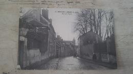 CP ANIMEE MONTFORT L'AMAURY- RUE DE PARIS- CLICHE RARE- - Montfort L'Amaury