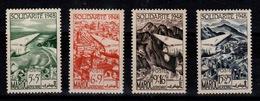 Maroc - YV PA 70 à 73 N** Complete Solidarite Cote 8 Euros - Morocco (1891-1956)