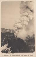 VESUV Ausbruch 1929 - Fotokarte Gel.1929, 2 Fach Frankiert - Napoli (Nepel)
