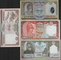 B 86 - NEPAL Lot De 4 Billets états Neufs - Népal