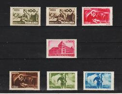 1945 - SERIE DES P.T.T. Mi No 867/873  MNH - 1918-1948 Ferdinand, Carol II. & Mihai I.