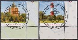 Deutschland 2010 MiNr.2800 - 2801 O Gest. ESST.Leuchttürme ( 8640 )günstige Versandkosten - Gebraucht