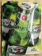 GROLSCH  Beer  TWENTE ENSCHEDE   The  Netherlands  Tin Publicité 28 X 39 Cm +/- 1990  NEW - Tin Signs (vanaf 1961)