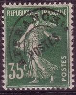 Préo. 63 - 35c Vert Semeuse - Neuf N* - Légère Trace Sur Gomme - 1893-1947