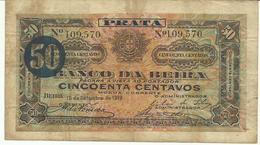 Nota 50 Centavos 15-9-1919 Moçambique - Mozambique