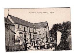 CPA 51 - Mairy Sur Marne ( Marne ) - L'eglise, Belle Animation - Vitry-le-François
