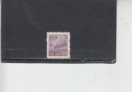 CINA  1950-51 -  Yvert   837A  (D) - Serie Corrente - Ongebruikt