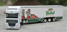 GROLSCH Beer TWENTE ENSCHEDE  The Netherlands  Vrachtwagen /Truck  DAF 95XF 19 X 4.5 X 3 Cm In Original Blister +/- 1990 - Alcohol