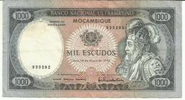 Nota 1000 Escudos 16-05-1972 Moçambique - Mozambique