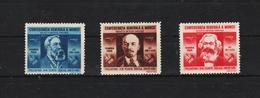 1945 -   CONFEDERATION GENERALE DU TRAVAIL  Mi No 861/863 Et Yv No 833/835 MNH - 1918-1948 Ferdinand, Carol II. & Mihai I.
