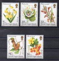 Iles VIERGES  Timbres Neufs ** De 1981   ( Ref 6060 )fleurs - Orchidées - Iles Vièrges Britanniques