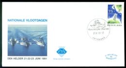 Nederland 1991 Speciale Envelop Den Helder Nationale Vlootdagen Met NVPH 1476 - Period 1980-... (Beatrix)