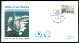 Nederland 1992 Speciale Envelop Den Helder Nationale Vlootdagen Met NVPH 1520 - Periode 1980-... (Beatrix)